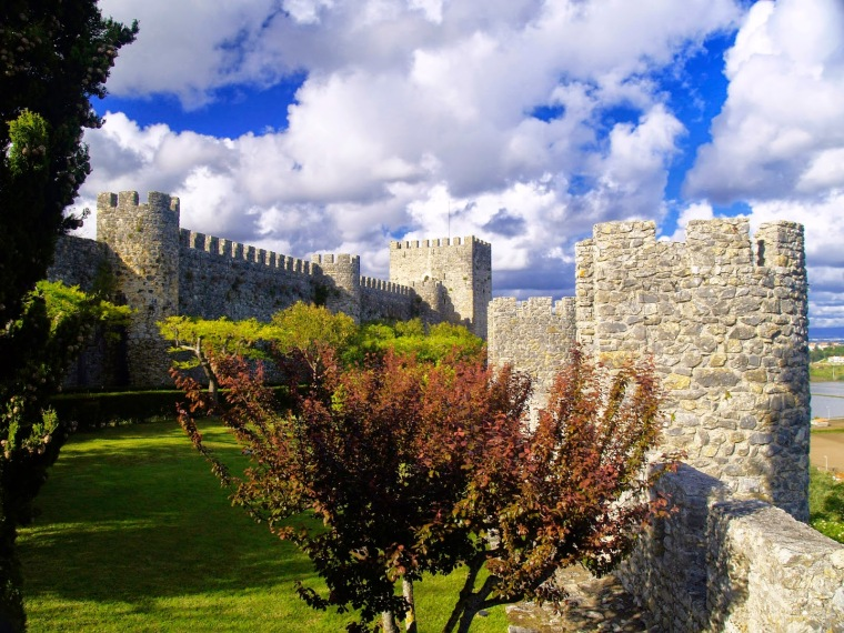 Castelo Montemor-o-velhoJardim